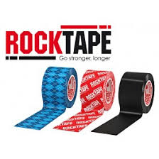 RockTape being used by Dr Gert Ferreira
